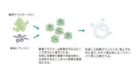 除菌の原理